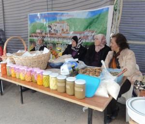 Lancement officiel du projet au festival d'Anjar (23 Avril 2013). Crédit photo: SPNLt at the Aanjar festival (23 April 2013). Photo Credit: SPNL
