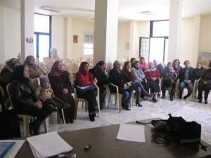 Rencontre avec les participants du projet.Crédit photo: SPNL