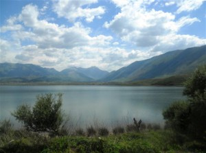 Orikumi lagoon  in Albania. Photo Credit: F. Bazigou