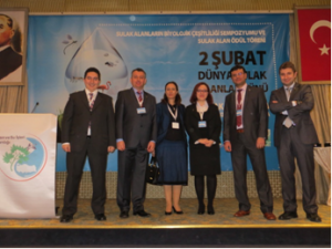 The Turkish wetland team