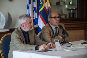 Thymio Papayannis and Nejib Benessaiah chairing a session