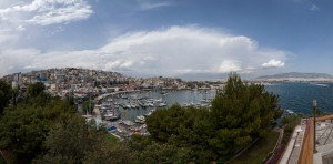 A view of Piraeus (Mikrolimano and Kastella area) where the Forum took place.  Credit stamos.abatis