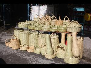 BAskets made from Reed in Al Bathan area R. Ghattas ARIJ (Copy)