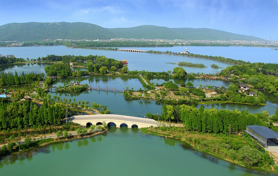 Shangu National Urban Wetland Park. Photo credit: INTECOL.