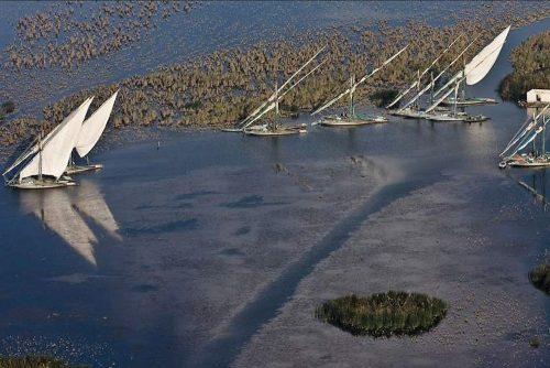 lagune côtière de Burullus