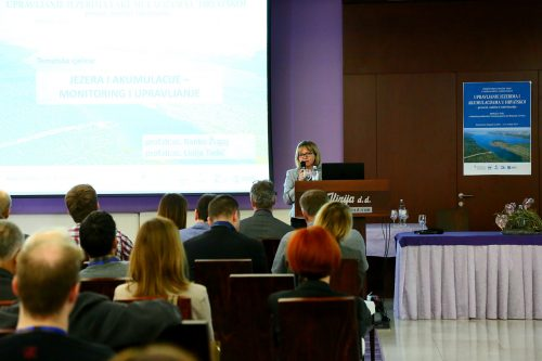 Presenting the results of research conducted. Photo: pp-vransko-jezero.hr