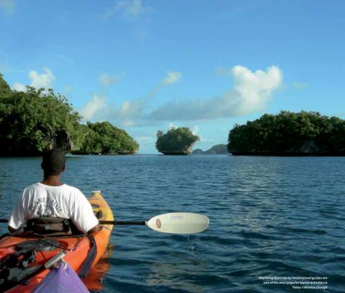 kayaking tours in wetands. Photo: ©Monika Zavagli